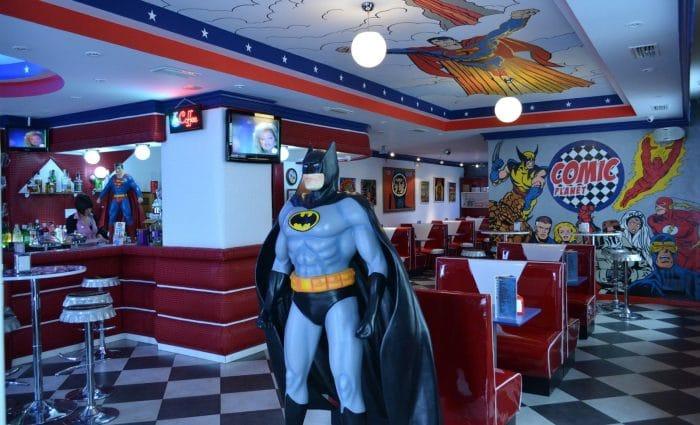 Restaurante temático Comic Planet, en Córdoba