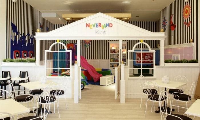Restaurante temático Neverland y Vips, en Madrid