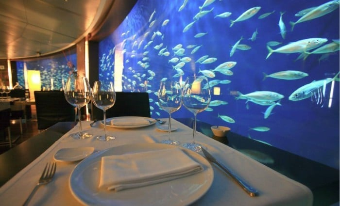 Restaurante temático para niños Restaurante Submarino, en Valencia