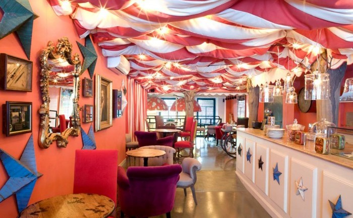 Restaurante temático para niños We Pudding, en Barcelona