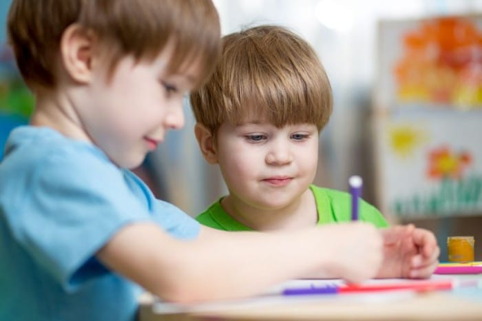 Beneficios de la pintura para los niños