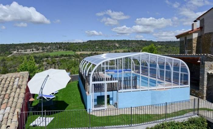 Casa rural El Francés (piscina) en Huesca