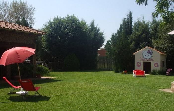 Casa rural Los Jabones (jardín) en Ciudad Real