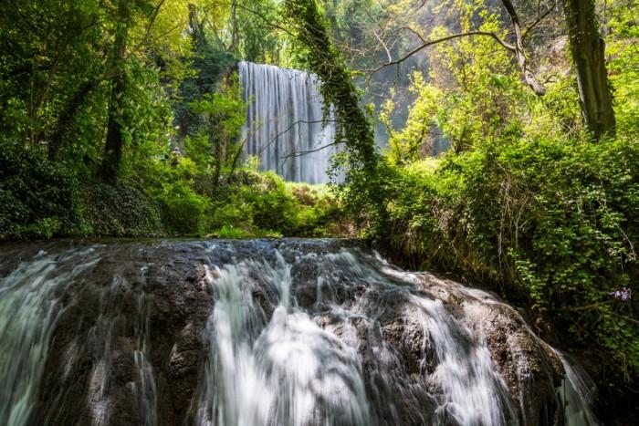 Cascada Baño de Diana en el Monasterio de Piedra