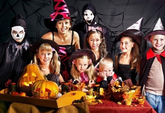 Celebrar Halloween con los niños