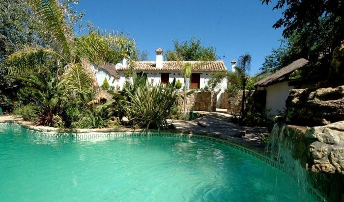 Casa rural Las Aves, en Jimena de la Frontera, Cádiz