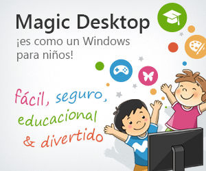 Descargar gratis Magic Desktop Windows para niños