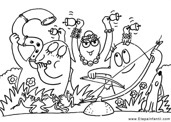 10 Dibujos Para Imprimir Y Colorear Etapa Infantil