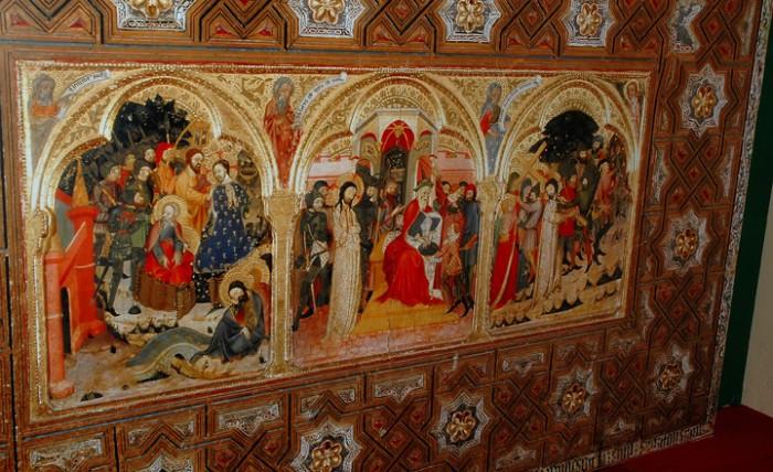 El retablo relicario del Monasterio de Piedra