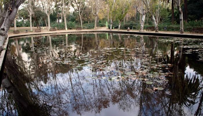 Estanqueen Turó Park, Barcelona