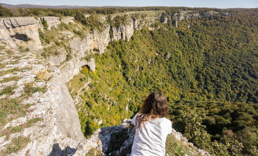 Excursión Mirador del Balcón de Pilatos enel Parque Natural de la Sierra de Urbasa, Navarra