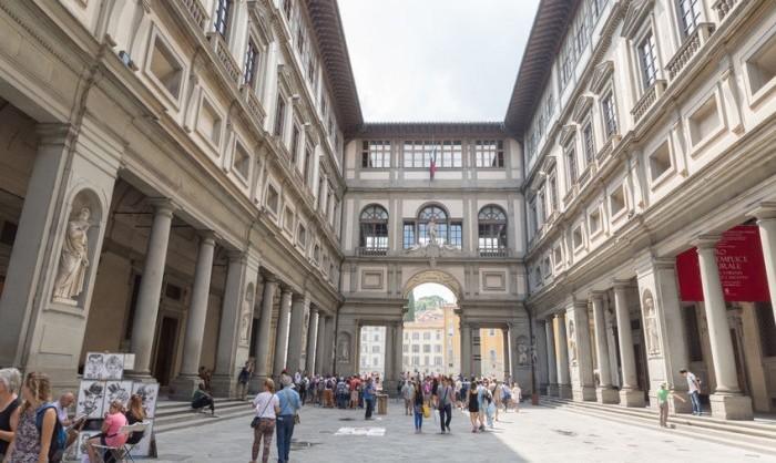 Galleria degli Uffizi, Florencia, Toscana