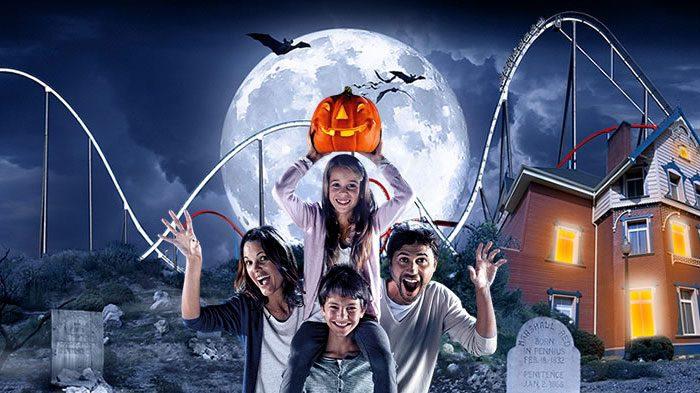 Halloween en PortAventura con niños