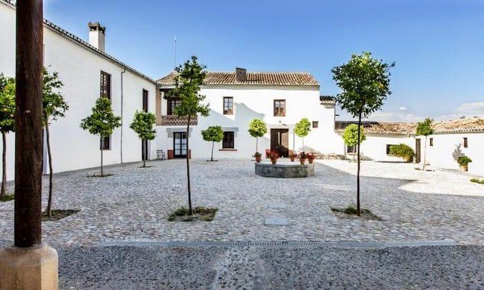 Hotel rural Cortijo del Marqués, en Albolote, Granada