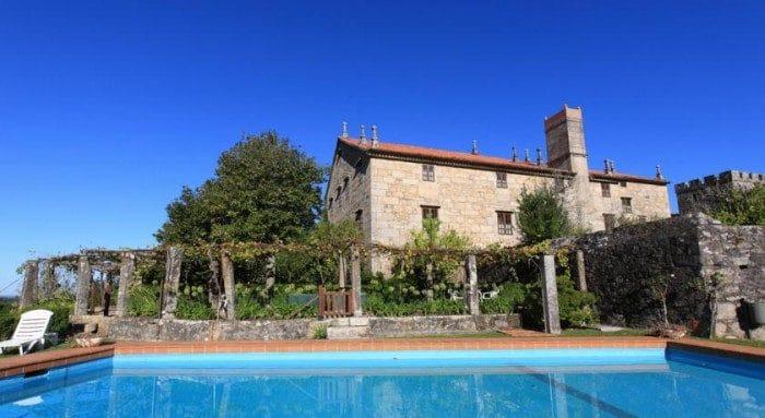 Hotel rural Pazo la Buzaca en Pontevedra