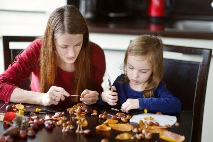 Ideas para hacer manualidades de otoño