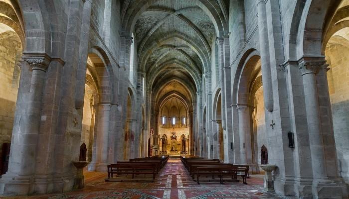 Iglesia Abacial de Piedra del Monasterio de Piedra