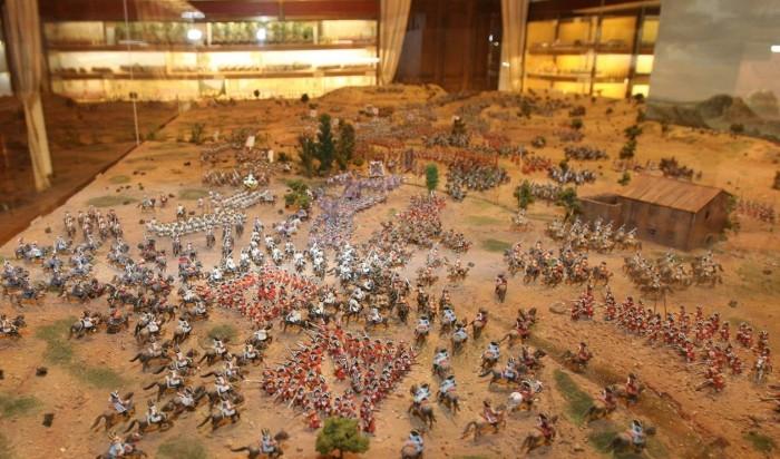 L'lber Museo de los soldaditos de plomo en Valencia