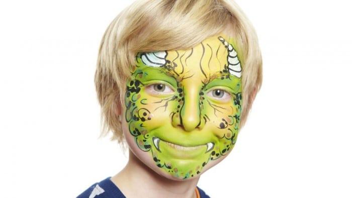 Maquillaje de Monstruo para Halloween