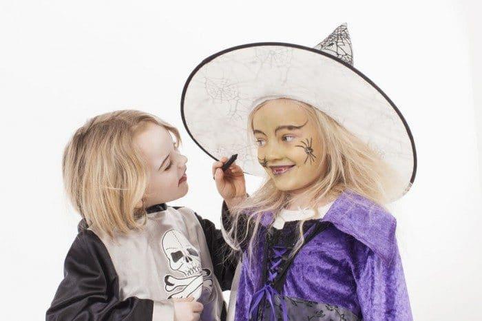 Maquillaje infantil Halloween