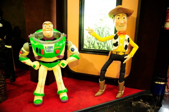 Toy Story en Museo de Cera, Madrid