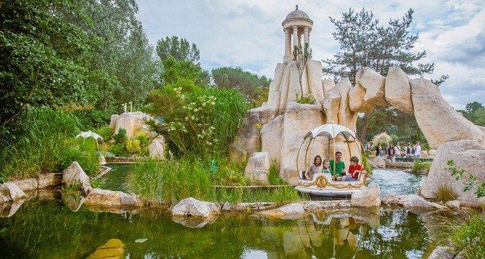 Parque Asterix con niños