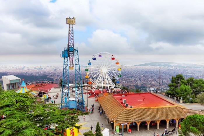 Parque de Atracciones Tibidabo, enBarcelona