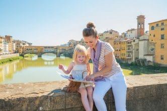 Ponte Vecchio en Florencia, Toscana