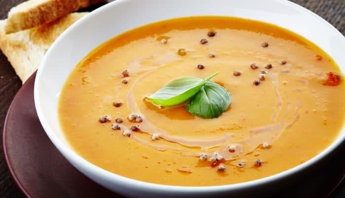 Recetas con verduras para niños Crema de verduras y yogur