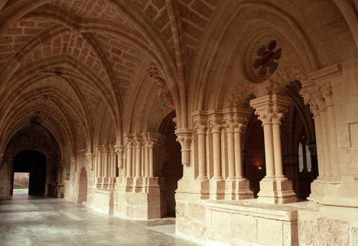 Sala Capitular delMonasterio de Piedra