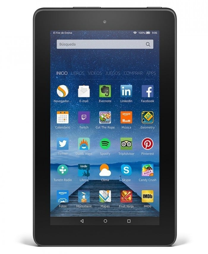 Tablet para niños Amazon Fire 7
