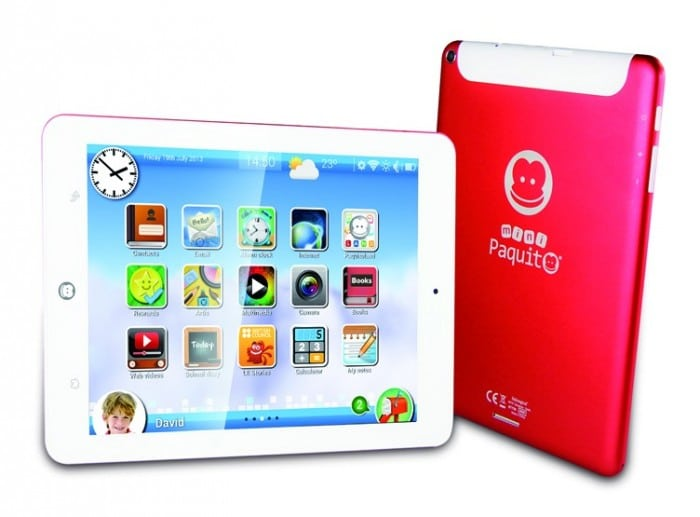 Tablet para niños Tablet Paquito Mini