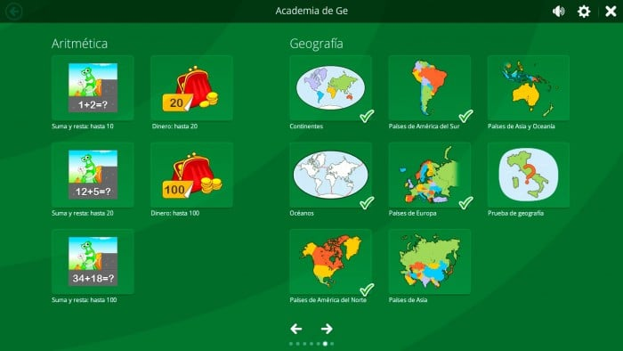 Academia Ge de Magic Desktop (Windows para niños)