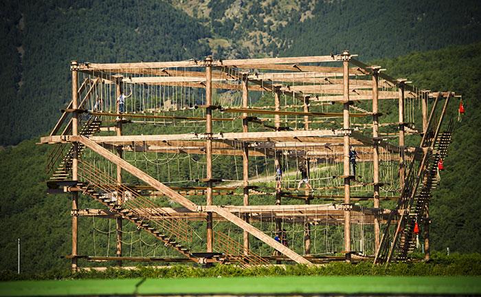 Airtrek de Naturlandia, en Andorra