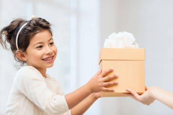 Enseñar niño ser agradecido