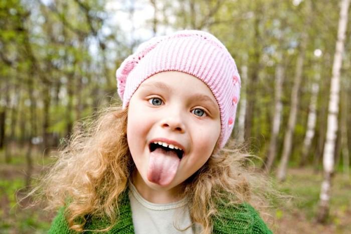 Carácter fuerte positivo niños