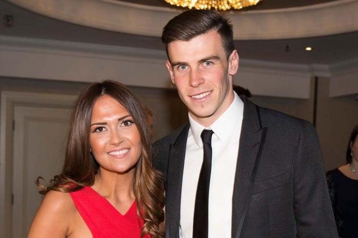 Emma Rhys-Jones y Gareth Bale