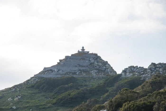 Faro de Cíes en Vigo, Galicia