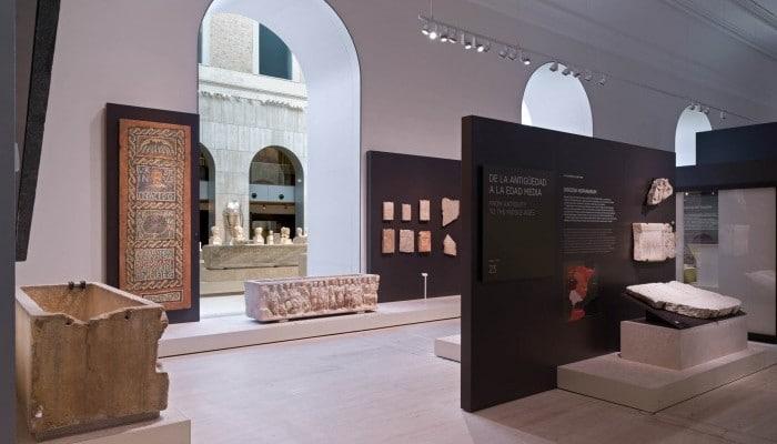 Exposición Antigüedad tardía enMuseo Arqueológico Nacional