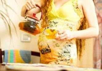 Infusiones en el embarazo