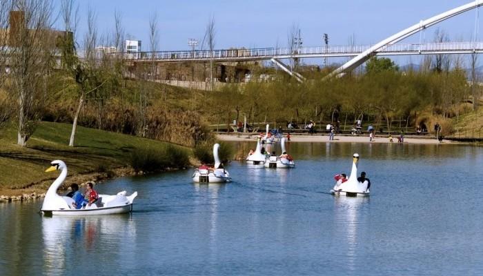 Escapada fin de semana con niños Parque de Cabecera en Valencia