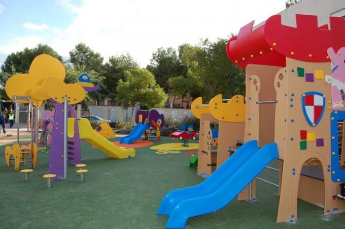 Parque infantil de Pocoyó en El Puig, Valencia