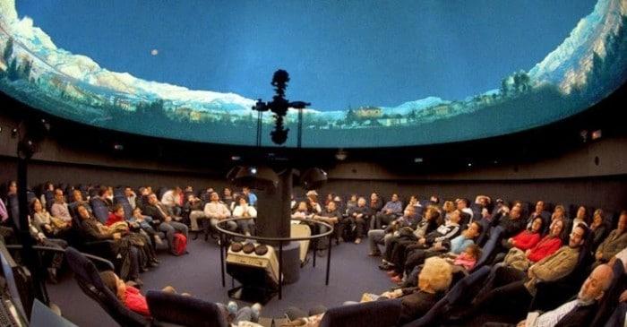 Planetario de Casa de las Ciencias, en A Coruña, Galicia