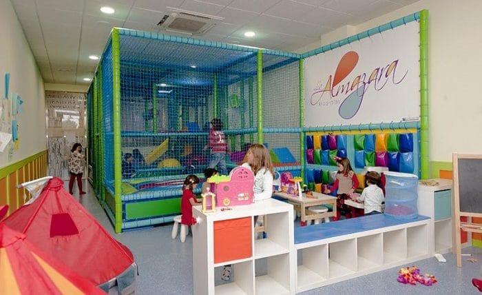 Restaurante con zona infantil La Almazara, en Madrid