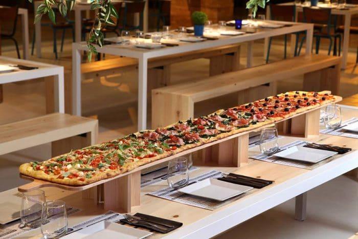 Restaurante para ir con niños Kilómetros de Pizza, en Madrid