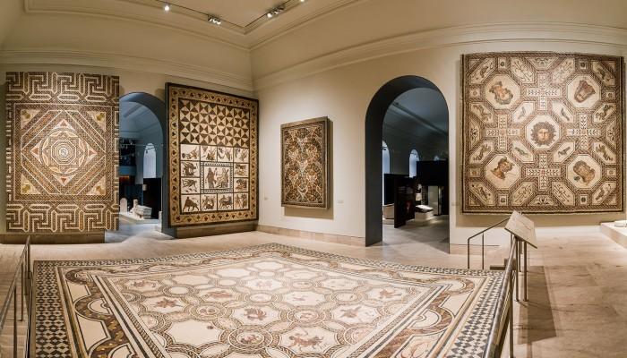 Salón Hispania romana enMuseo Arqueológico Nacional