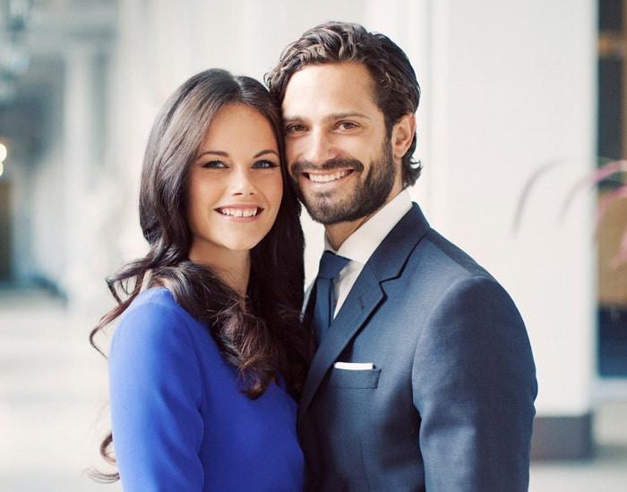 Sofía Cristina y Carlos Felipe