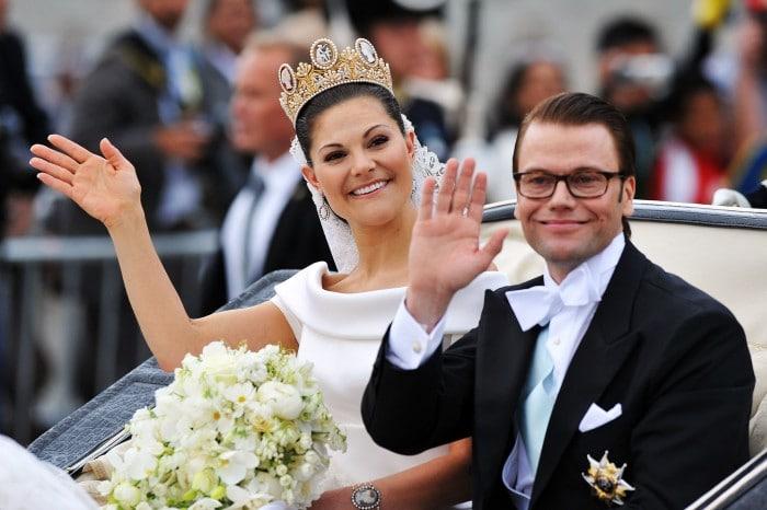 Victoria y Daniel Westling