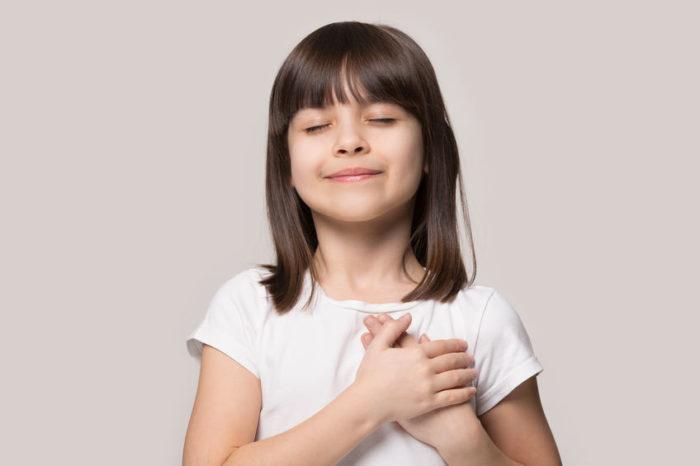 niño agradecido