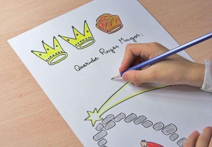 Escribir la carta a los Reyes Magos
